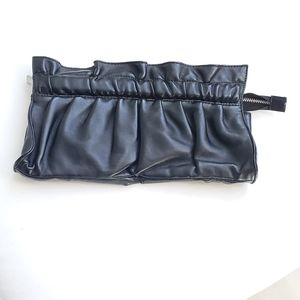 Express Black Clutch Bag